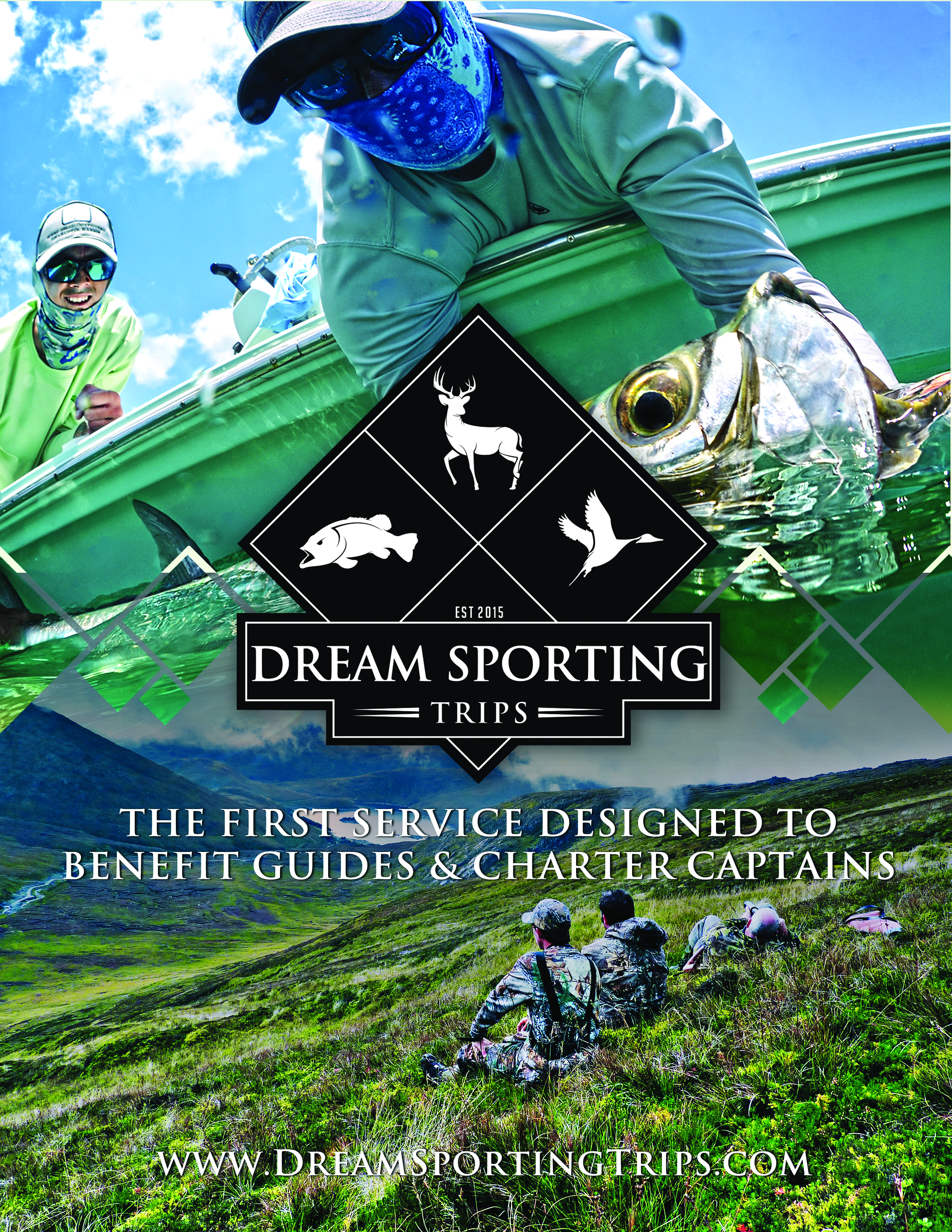 Front of Dream Sporting Trips Brochure