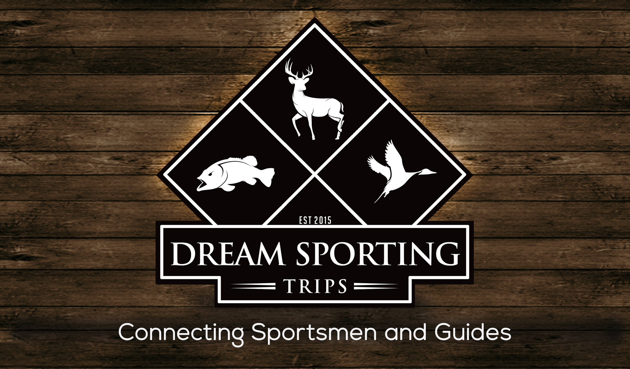 Dream Sporting Trips Back of business card